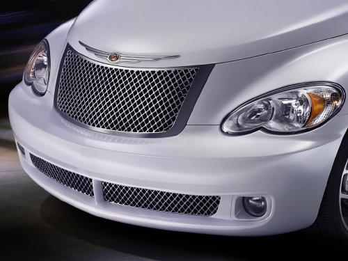 01-10 Chrysler PT Cruiser CHROME FUEL GAS FILLER DOOR OEM NEW MOPAR GENUINE