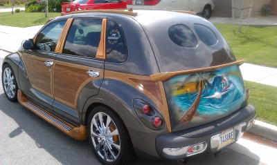 Rear window styling! & tailgate abs - PT Cruiser Forum